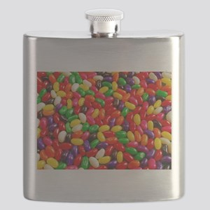 Colorful jellybeans Flask