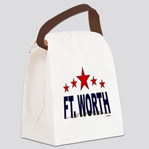 Ft. Worth Canvas Lunch Bag
