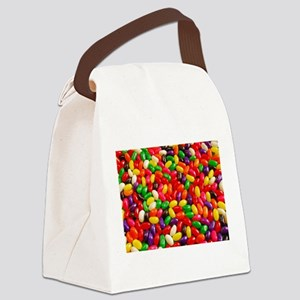 Colorful jellybeans Canvas Lunch Bag