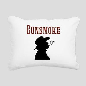 Gunsmoke Rectangular Canvas Pillow