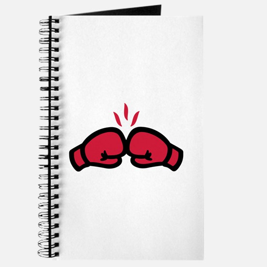 Boxing gloves punch Journal
