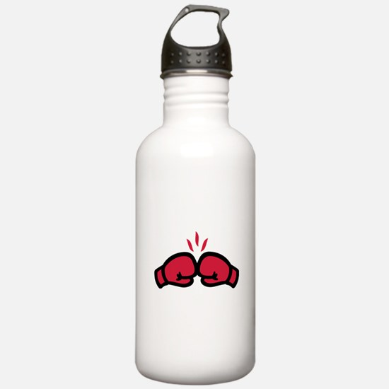 Boxing gloves punch Sports Water Bottle