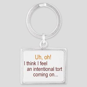 Intentional Tort Keychains
