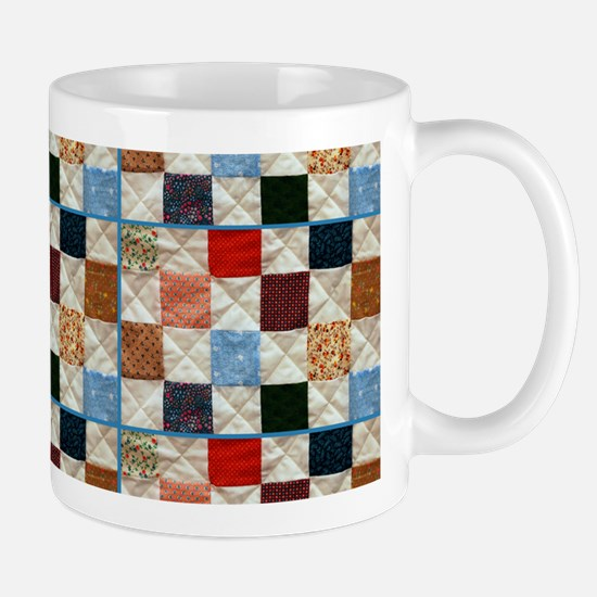 Colorful Quilt Pattern Mugs