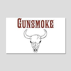 Gunsmoke Wall Decal