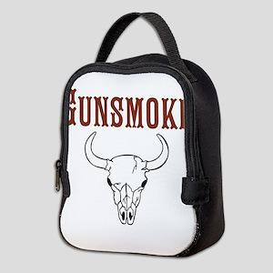 Gunsmoke Neoprene Lunch Bag