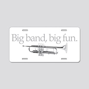 Big band big fun Aluminum License Plate