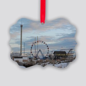 Seaside Heights Funtown Pier Jers Picture Ornament