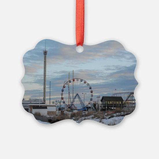 Seaside Heights Funtown Pier Jers Ornament