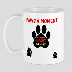 Paws a Moment, Mug