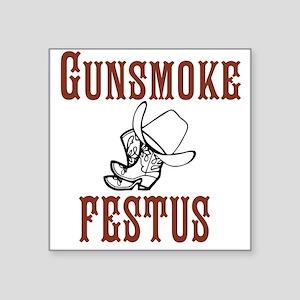 Gunsmoke Festus Sticker