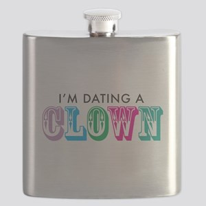 I'm dating a clown Flask