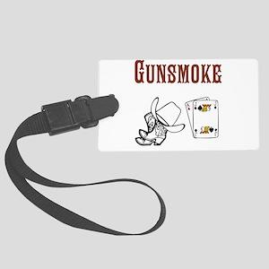 Gunsmoke Luggage Tag