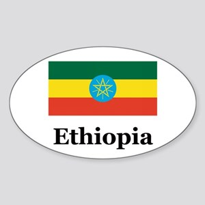 Ethiopia Rectangle Sticker