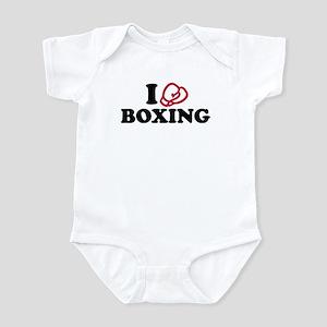 I love boxing gloves Infant Bodysuit