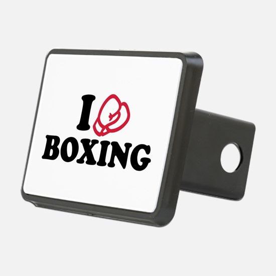 I love boxing gloves Hitch Cover