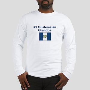Guatemala #1 Grandpa Long Sleeve T-Shirt