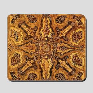 Intricate Wood Design Mousepad