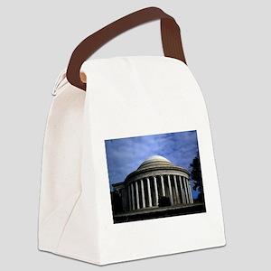 Jefferson Memorial 2 Canvas Lunch Bag