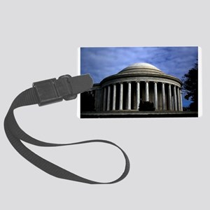 Jefferson Memorial 2 Luggage Tag