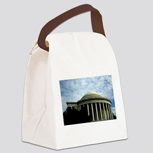 Jefferson Memorial Canvas Lunch Bag
