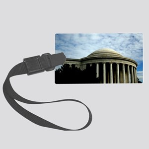 Jefferson Memorial Luggage Tag
