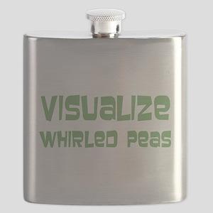 Whirled Peas Flask