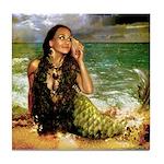 The Sea Is Calling Tile Coaster