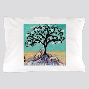 Wheaten Terriers Tree of Life Pillow Case