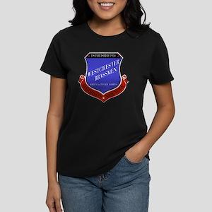 Brassmen Crest Women's Dark T-Shirt