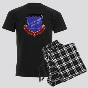 Brassmen Crest Men's Dark Pajamas
