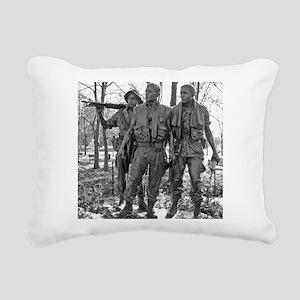 Vietnam Mens Memorial Rectangular Canvas Pillow