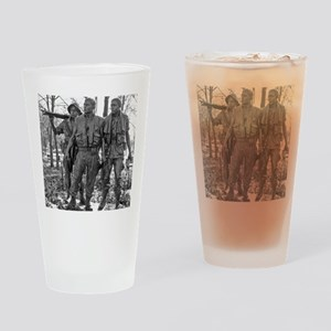 Vietnam Mens Memorial Drinking Glass