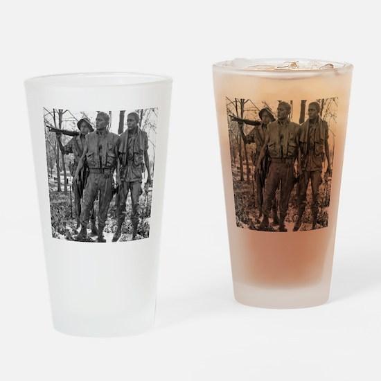 Vietnam Mens Memorial Drinking Glass