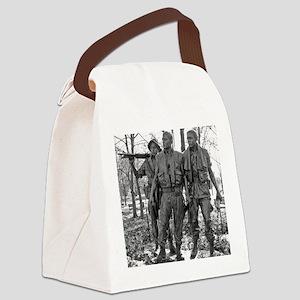 Vietnam Mens Memorial Canvas Lunch Bag