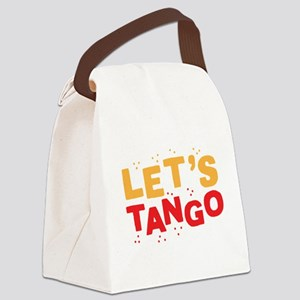 Let's TANGO Canvas Lunch Bag