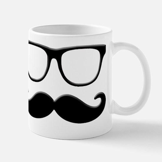 Glasses Mustache Mug