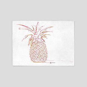Ananas Pastel  5'x7'Area Rug
