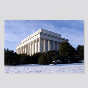 Lincoln Memorial 2 Postcards (Package of 8)