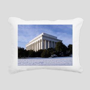 Lincoln Memorial 2 Rectangular Canvas Pillow