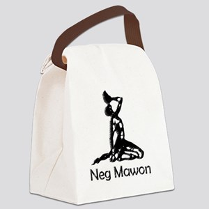Neg mawon black Canvas Lunch Bag