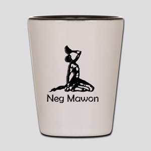 Neg mawon black Shot Glass