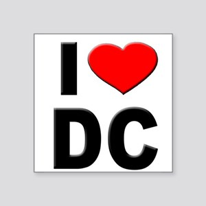 I Heart DC Sticker