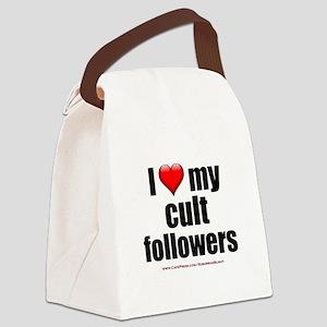 """Love My Cult Followers"" Canvas Lunch Bag"