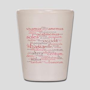 Catullus Shot Glass