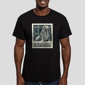 Vintage 1954 Canada Walrus Postage Stamp T-Shirt