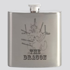 The Crucified Dragon 002 Black Flask