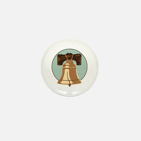Liberty Bell Mini Button
