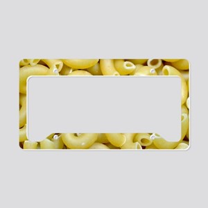 Elbow macaroni noodles License Plate Holder