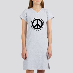 peace * love * guard Women's Nightshirt